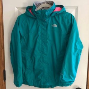 The North Face HyVent Rain Jacket, Size 14/16